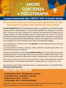 cgv claudio naranjo locandina 6 passi