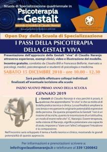 open day DICEMBRE 2018
